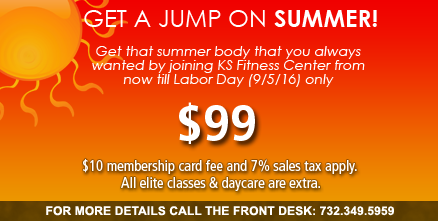 Call 732-479-4867 for details on our Summer Special!